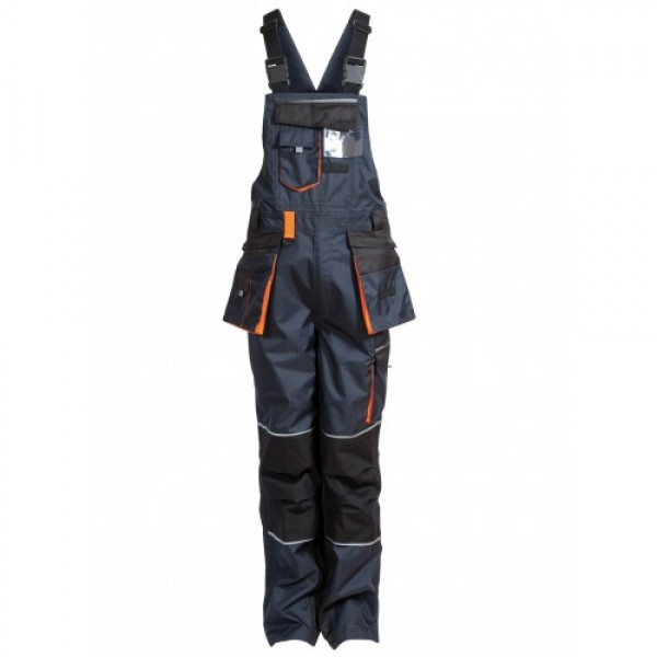 Elka Working Xtreme Bib & Brace Dusty Blue