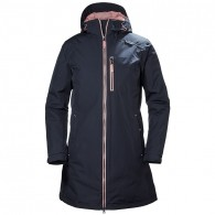 Helly Hansen Womens Long Belfast Jacket - Graphine