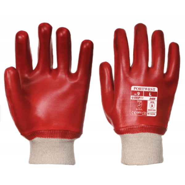 Portwest PVC Knitwrist Gloves