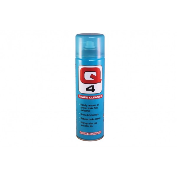 Q4 Brake Cleaner 500ml Spray