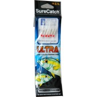 Surecatch White Rainbow Flash Size 14