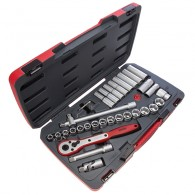"Teng Tools T1234 34 Piece 1/2"" Drive Socket Set"