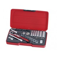 Teng Socket Set Metric 36 Piece 1/4in Drive