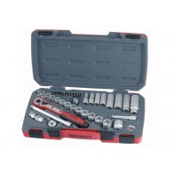 Teng Socket Set 39pc Metric 3/8 in SD