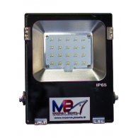 20W Multi Chip LED Floodlight - 110/220V AC