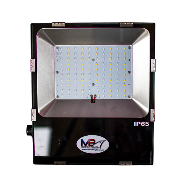 100W Multi Chip LED Floodlight - 180/295V AC