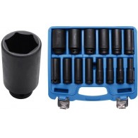 BGS 14-piece 1/2 impact socket set 10-32 mm