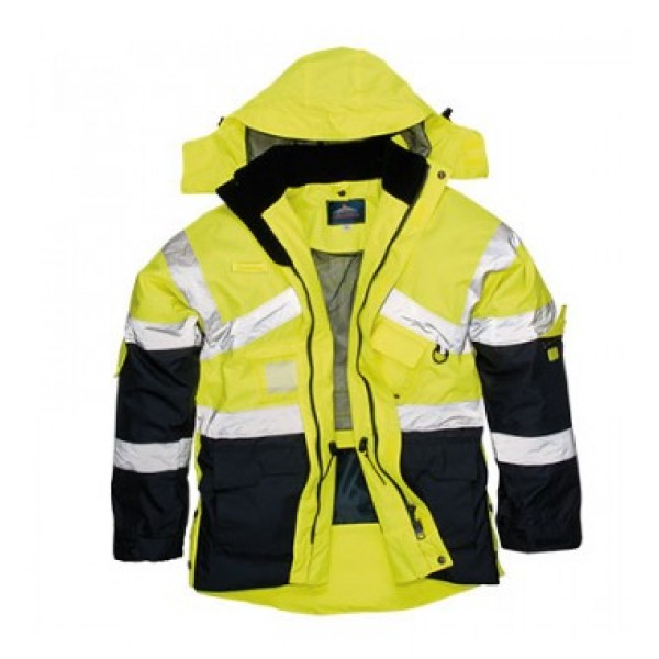 Portwest Hi-Vis Two Tone Breathable Jacket