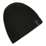 Weird Fish Bally Beanie - Black