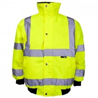 Kids Hi Vis Bomber Jacket