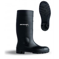 Dunlop Black Safety Wellies