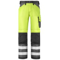 Snickers Trousers Hi Vis