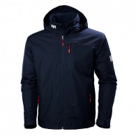 Helly Hansen Crew Hooded Midlayer Jacket | Navy