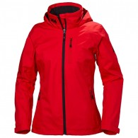 Helly Hansen Womens Crew Midlayer Jacket - Alert Red