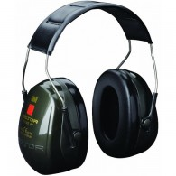 3M Peltor Optime II Ear Defenders Over Head