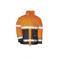 Sioen Pinatubo Hi Vis Winter Rain Coat