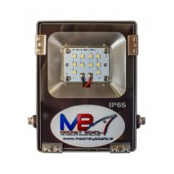 10W Multi Chip LED Floodlight - 12/24V DC
