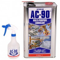 AC90 5 Litre Lubricant Tin with Spray Bottle