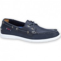 Sebago Litesides Navy Leather Shoes