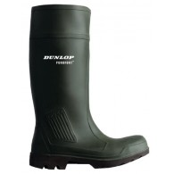 Dunlop Safety Purofort Wellies Green