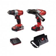 Einhell Power-X-Change Combi & Drill Driver Twin Pack 18 Volt 2 x 1.5Ah Li-Ion