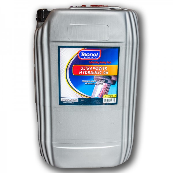 20L Tecnol Ultrapower PW46 Hydraulic Oil