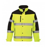 Portwest Green Hi Vis Softshell Jacket