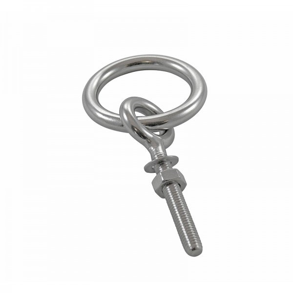 Stainless Steel Eye Bolt W/ Metric Thread And Ring