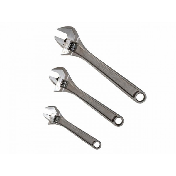 Bahco Adjustable Wrench Triple Pack