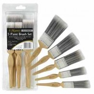 Harris 13190 Platinum Brush Set (5 pce)