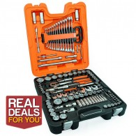 Bahco 138 Piece Mixed Drive Socket & Spanner Set