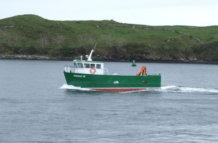 B32 Johnny M Steel Workboat